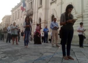 Sentinelle in piedi a Reggio Calabria