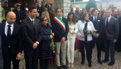 la neo giunta comunale a Santa Venere