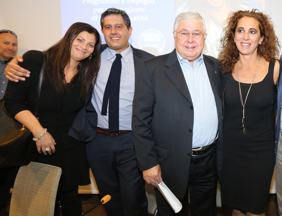 da sinistra Santelli, Toti, Callipo e Ferro