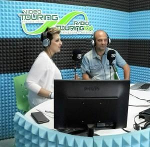 Dalila Nesci con Alessandro Russo a politiCALtour
