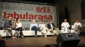 da sin: Raffaele Mortelliti, Ilaria Bonaccorsi, Giuseppe Raffa, Giuseppe Falcomatà, Antonio Messina, Andrea Agostinelli, Giusva Branca
