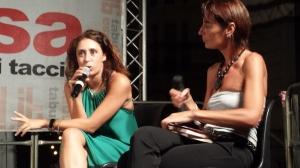 da sinistra Francesca Vecchioni e Paola Bottero