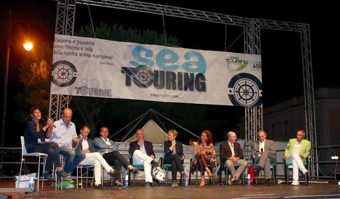 da sinistra Bottero, Russo, Micari, Siclari, Anastasi, Rizzo, Ferro, Lamberti, Caminiti e Morabito