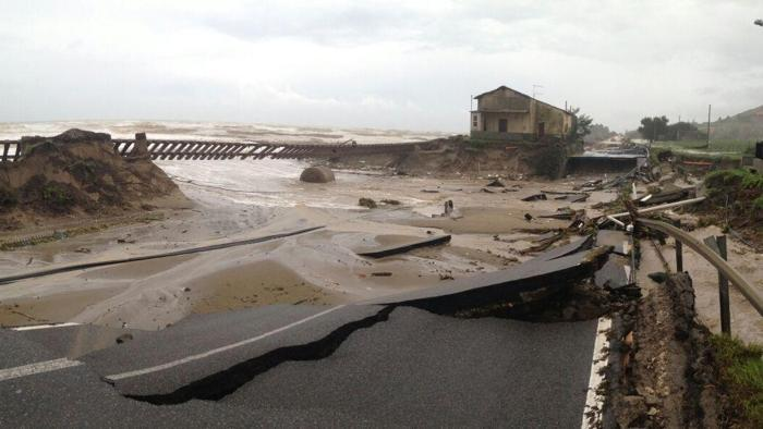 alluvione locride maltempo