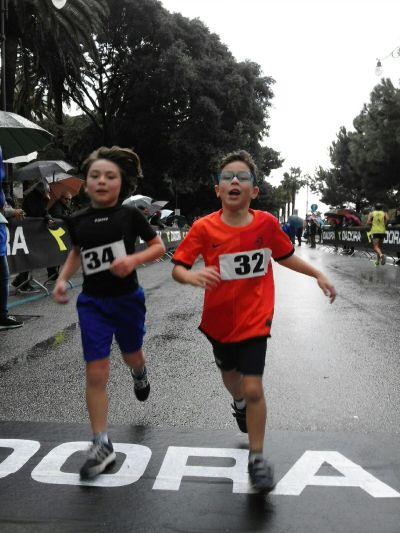 Gli atleti Paolo e Gabriele Maria Vecchio