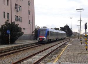 ATR220 treno stazione Soverato