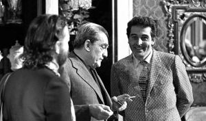 Mario Gallo e Luchino Visconti sul set di Morte a Venezia