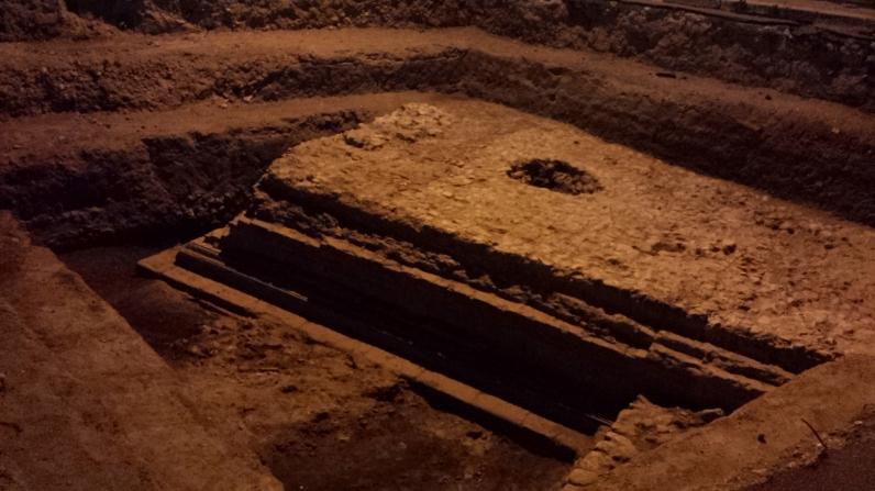Il podio romano del primo saggio