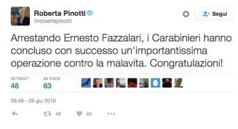 Pinotti Fazzolari twitter ndr