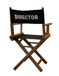regista director sedia