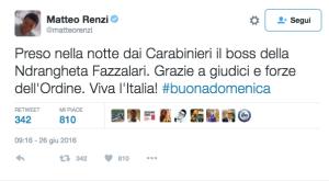 Renzi Fazzolari twitter ndr