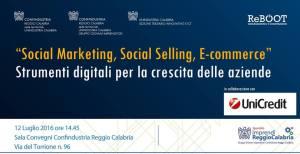 CONF RC_12 LUGLIO_SOCIAL MARKETING, SOCIAL SELLING, E-COMMERCE