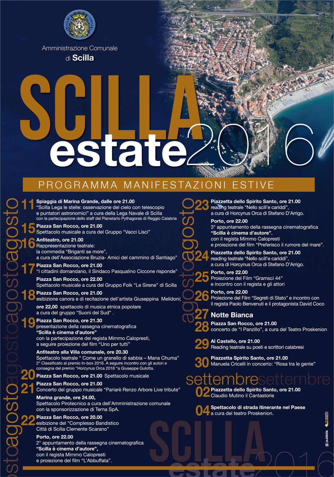 SCILLA estate2016