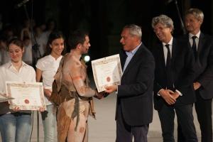 VALERIO Premiato dal Presidente Grasso