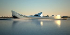 Zaha Hadid waterfron rc