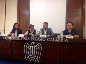 da sin: Chirico, Piromalli, Cuzzocrea, Calabrese