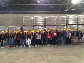Diano con gli studenti dell'ITC Familiari di Melito