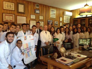 Istituto de Blasi con gli studenti dell'IPI Fermi Boccioni di Reggio