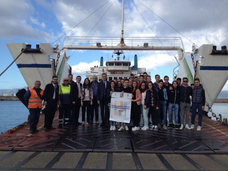 Diano Lines con gli studenti del Piria di Reggio