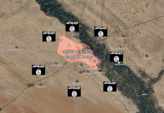 Deir ez Zor map 2
