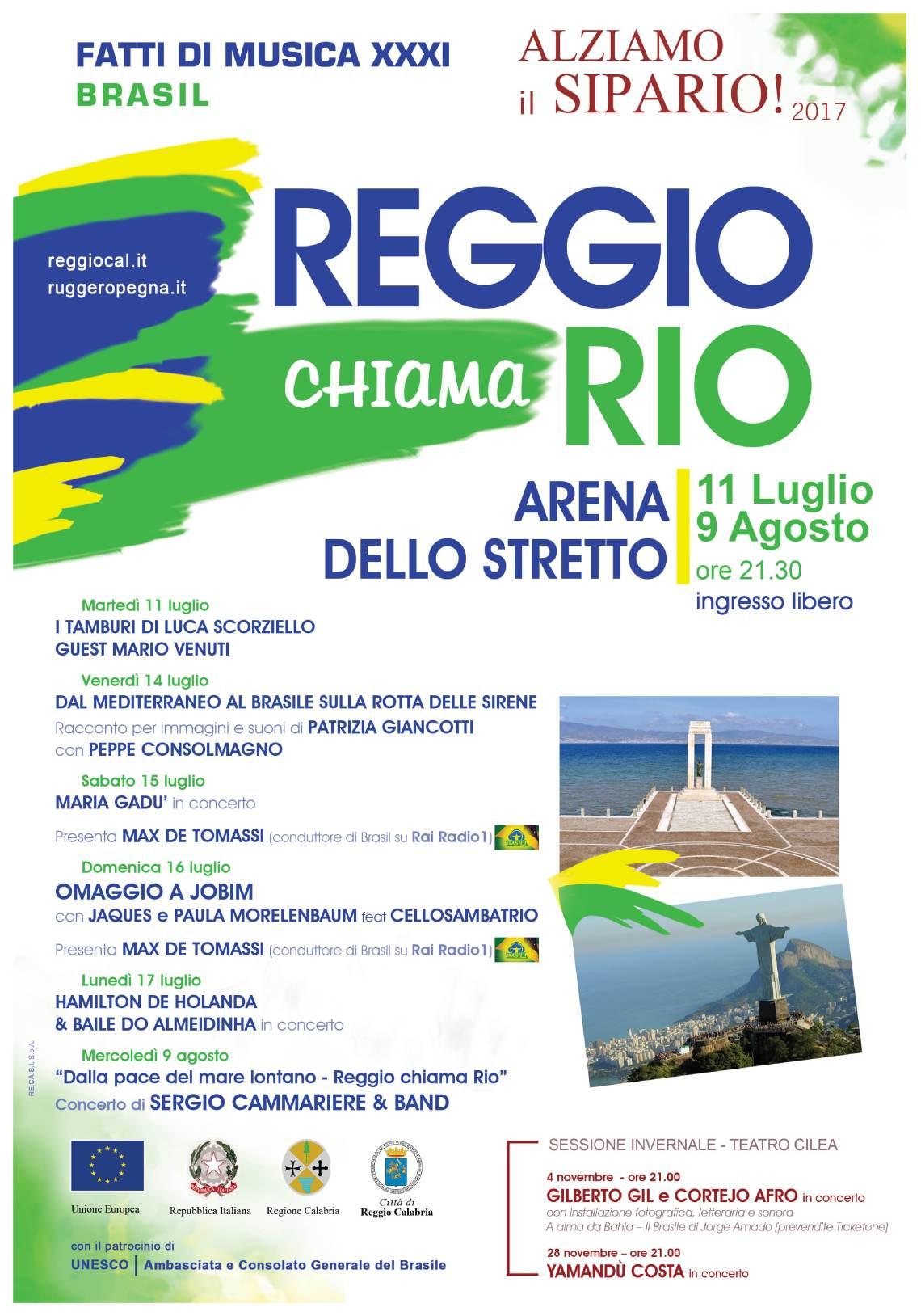 Reggio chiama Rio 2017