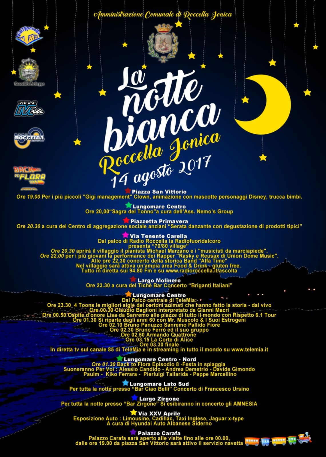 Roccella Notte Bianca 2017