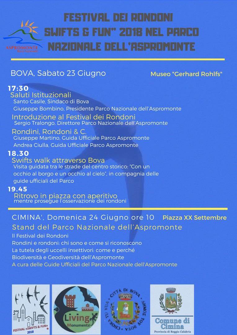 """FESTIVAL DEI RONDONI - SWIFTS & FUN"""" 2018 NEL PARCO NAZIONALE DELL_ASPROMONTE (2)"""