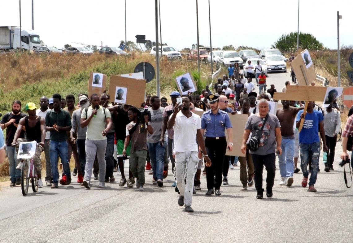 soumaila migrante ucciso protesta